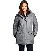 Women's Heathered Squall Parka (Gray Texture)