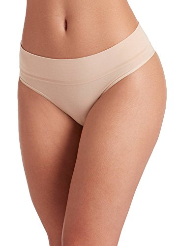 - Jockey Women's Underwear Natural Beauty Thong, Sand Castles, 7