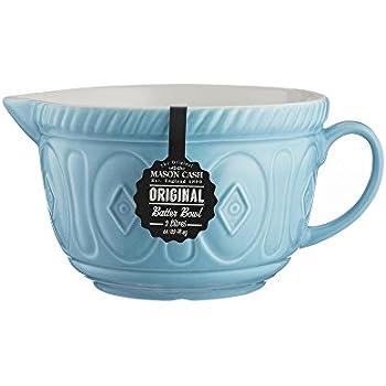 Amazon Com Le Creuset Stoneware 2 Quart Batter Bowl