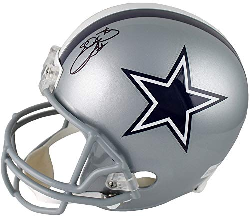 Emmitt Smith Signed Autographed Dallas Cowboys Full Size Replica Helmet TRISTAR COA