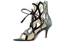 Artisan Brand Women's Sandals, Handmade, Custom, Designer Heels, High Heels, Wedding Heels, Bridal Heels 7, Black