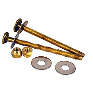 Oatey 90154 Extra Long Johni-Bolts  with   1/4-Inch  Diameter