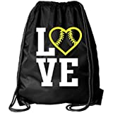 Kenz Laurenz Softball Bag Drawstring Cinch Sack...