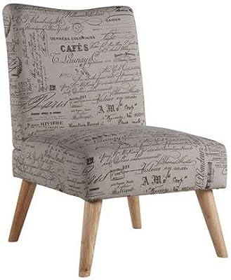 Amazon Com Linon Home Decor Taylor Accent Chair White