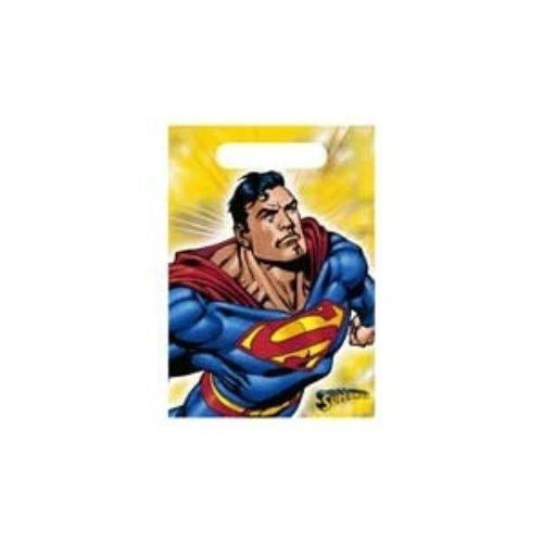 Superman Treat Sacks Case Pack 7 Man Treat Sacks