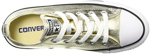 Star Black unisex Gold Light Hi All White Zapatillas Converse qwP5ava