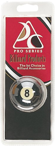Pro Series CLM-7 Royal Crown Replacement 2 1/4-Inch Cast Polyester 8-Ball in Hang Pack
