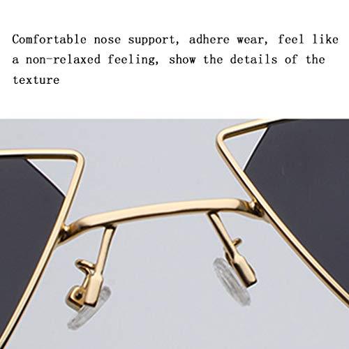 Luz Sol Yellow Gafas NDY Gafas Personalidad Recorte Sol De Hombres De Señoras Sol Yellow Triángulo De Gafas 6Xra6