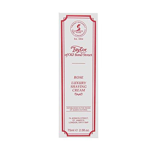 Taylor Of Old Bond Street Shaving Cream Rose Tube, - Tube Old Classic