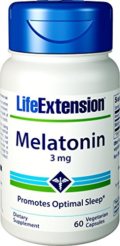 Life Extension Melatonin 3mg 60 Capsules