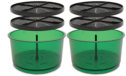 2 qty Freshlife FL-3000 Extra Barrels Set Add Another Sprouter 2 Levels FRESH-03S Green