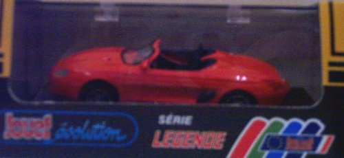 Jouef 1005 1994 Ford Mustang Mach III Convertible - Concept Car - Orange - Legend Series - 1:43 Scale Diecast