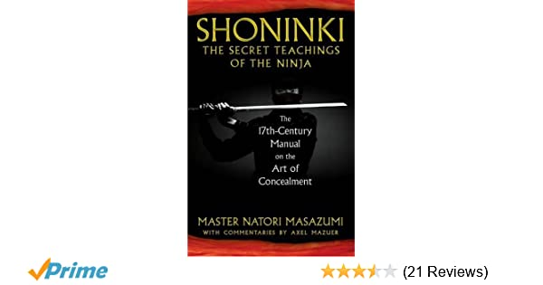 Shoninki: The Secret Teachings of the Ninja: The 17th ...