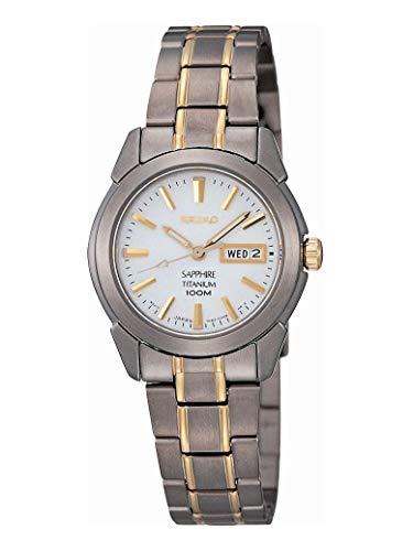 Seiko SXA115P1 Ladies Sapphire Titanium Watch