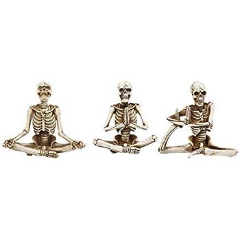 Amazon.com: Transpac Zen Yoga - Figuras de esqueleto ...