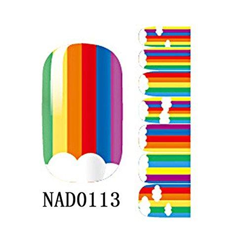 Decoration Polish Foils Nail Stickers Type NAD0113