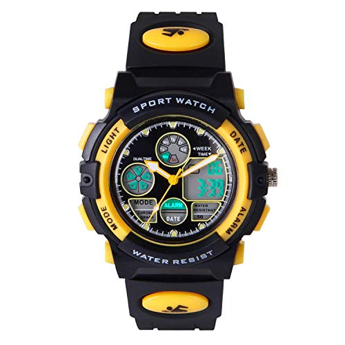HIwatch Youth Watches Boys Girls Water-Resistant Sports Digital
