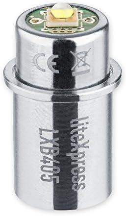 278 Lumen f/ür 2 C//D-Cell Maglite Taschenlampen LXB405 LiteXpress LED Upgrade Modul
