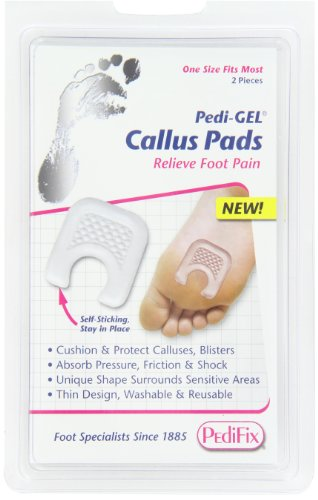 PediFix Pedi-gel Callus Pads, 2-Count (Pedifix Pedi Gel)
