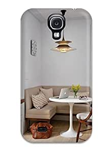 AllenJGrant OGYothD8936kMTpG Case Cover Galaxy S4 Protective Case Transitional Breakfast Nook With Banquette Seating And Pendant Light by lolosakes