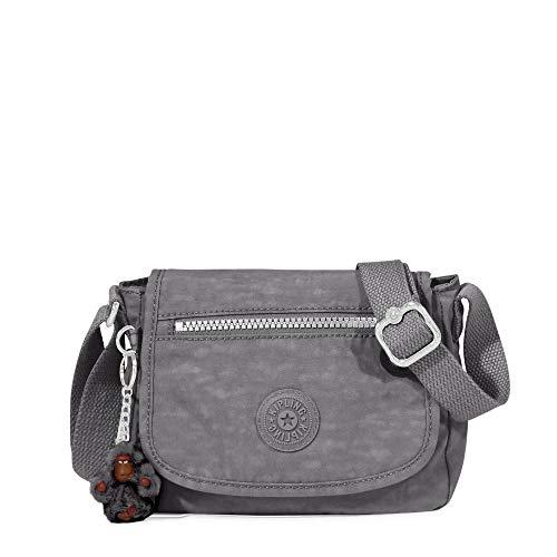 Kipling Sabian Crossbody Mini Bag One Size Charcoal Grey
