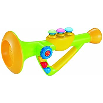 Amazon 10 musical toy trumpet instrument for kids with music 10 musical toy trumpet instrument for kids with music and lights sciox Choice Image