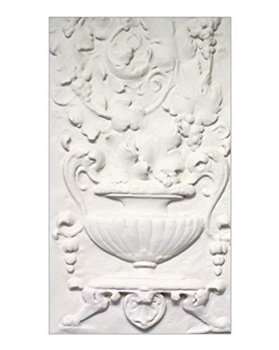 Decorative Roman Style Wall Frieze, Fiore Flower Portrait, 23