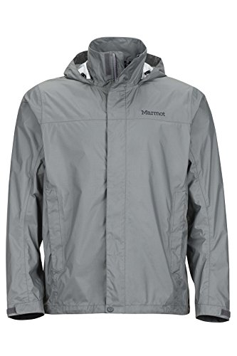Marmot PreCip Men's Lightweight Waterproof Rain Jacket, X-Large, Gargoyle