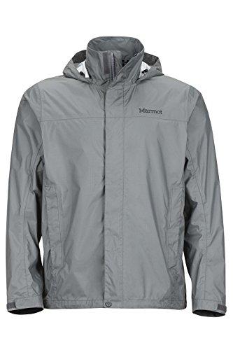 Marmot PreCip Men's Lightweight Waterproof Rain Jacket, X-Large, Gargoyle
