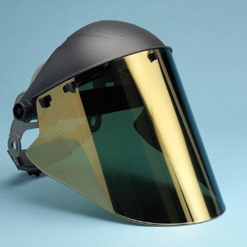 Elvex Gold Coated Lexan Face Shield - 10 x 18.5 inch - FS-18GL