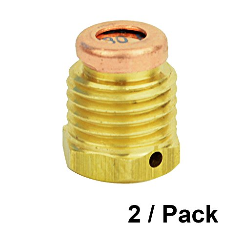 Interstate Pneumatics WRCO2-BD-2PK Pack of 2 Burst Disc 3K Rating for CO2 Paintball Tank by Interstate Pneumatics