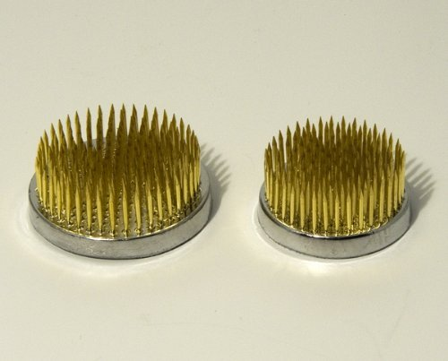 Round kenzan flower pins - .1.75 and 2.25 | Ziji