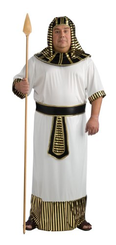 Rubie's Costume Co. Men's Plus Size Pharaoh Costume, As Shown, One Size
