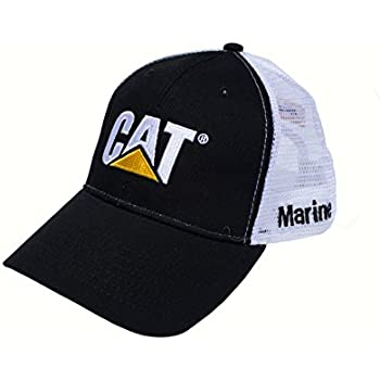 Amazon.com  Caterpillar Cat Gray Twill w Patch Cap  Sports   Outdoors 9c5a2286f51f