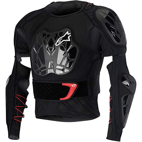 ALPINESTARS Jacket Bionic Tech Black / Red M - Jacket Bionic Alpinestars