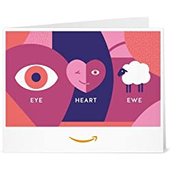 Amazon Gift Card - Print - Eye Heart Ewe