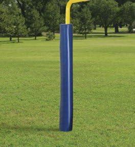 最初チームft75 foam-vinyl Postパッドfor Gridiron Football Goalpost & # 44 ;ブラック