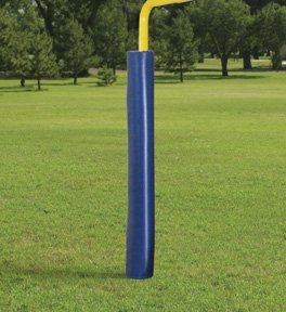 First Team FT75 Foam-Vinyl Premium Pole Pad for 4 & 5 in. Square Poles, Columbia Blue B0042VY5VI