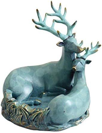 葉巻灰皿, 創造灰皿個性動物鹿ポーチストレージキートレイ