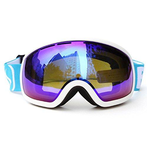 Skiing Goggles Anti-fog Big Ski Mask Glasses Skiing Snow Snowboard Strap Skating Goggles - Oakly Googles