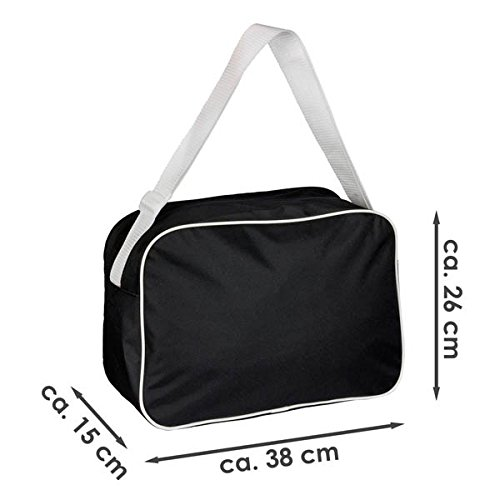 Black Retro Field Shoulder Service Work Bag Classic Love I 1ZwRqTw