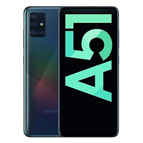 chollos oferta descuentos barato Samsung Galaxy A51 Dual SIM Smartphone de 6 5 Super AMOLED 4 GB RAM 128 GB ROM cámara Trasera 48 0 MP 12 0 MP 5 0 MP 5 MP cámara Frontal 32 MP Negro