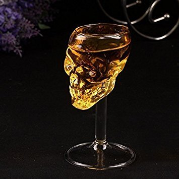 Xin al source 75ML Creative Skull Skeleton Wine Glass Cup Decanters Goblet Wineglass Red Wine Cocktail Whisky Beer Champagne
