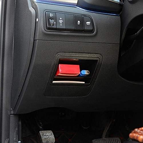 LSLZQ Inner Fuse-Aufbewahrungsbeh/älter Bin Case Card Slot-Halter for Hyundai Tucson