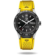 TAG Heuer CONNECTED Luxury Smart Watch (Android/iPhone) (Yellow)