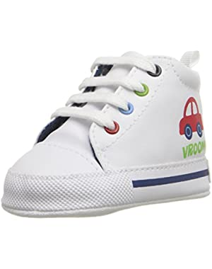 Vroom Car High Top Sneaker (Infant)