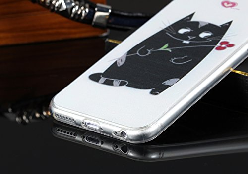JewelryWe carino gatto print Back Case Protecttiva Cover per iPhone 6