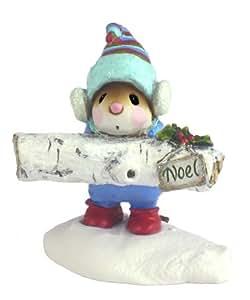 Wee Forest Folk Yule Log Figurine