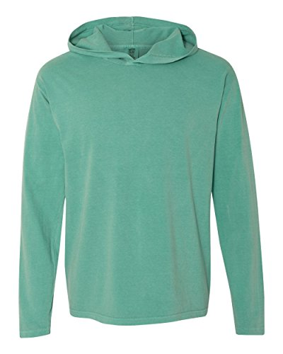 Comfort Colors - Garment Dyed Hooded Long Sleeve Tee -