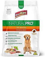 Ração Baw Waw Natural Pro para cães adultos sabor Frango e Arroz - 15kg